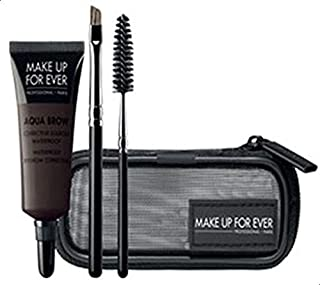 Make Up For Ever Aqua Brow Kit Eyebrow Color and Shaping - 0.23 oz, 30 Dark Brown