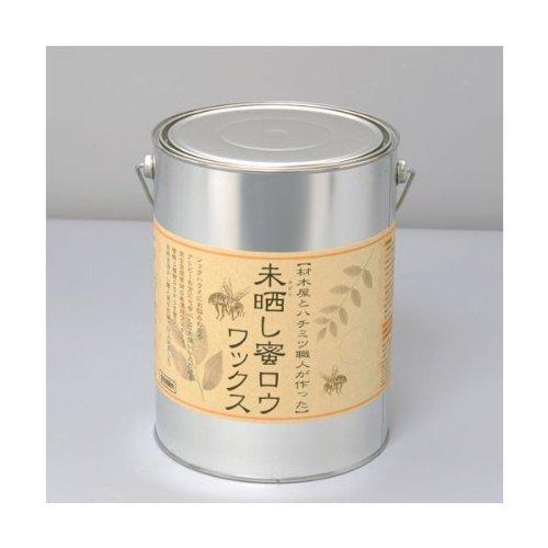 未晒し蜜蝋ワックス 4L タイプ:Aタイプ(バターの様な固さ)