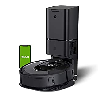 iRobot Roomba i7+ (7550) Robot Vacuum with Automatic Dirt Disposal-Empties Itself, Wi-Fi Connected, Smart Mapping, Works with Alexa, Ideal for Pet Hair, Carpets, Hard Floors, Black (B07GNPDMRP)   Amazon price tracker / tracking, Amazon price history charts, Amazon price watches, Amazon price drop alerts