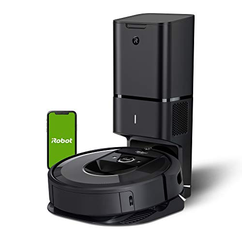 iRobot Roomba i7+ (7550) Robot Vacuum with Automatic Dirt Disposal-Empties Itself, Wi-Fi Connected,...