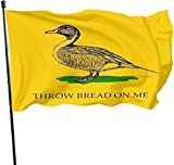 vipsung Throw Bread on me Garden Flag, Demonstration Flag, Family Gathering Flag and Competition Flag Outdoor Decor Garden Banner 3x5 Ft