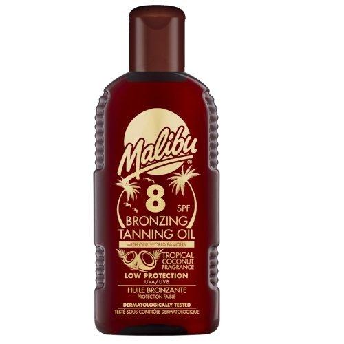 Malibu MALIBU BRONZING TANNING OIL SPF 8 FLES 200 ML