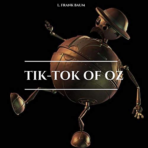 Tik-Tok of Oz audiobook cover art