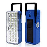 Pick Ur Needs ® Rocklight Solar High Quality High-Bright 36 LED Light with Android Charging Support Rechargeable LED Emergency Light (36 SMD + Solar)