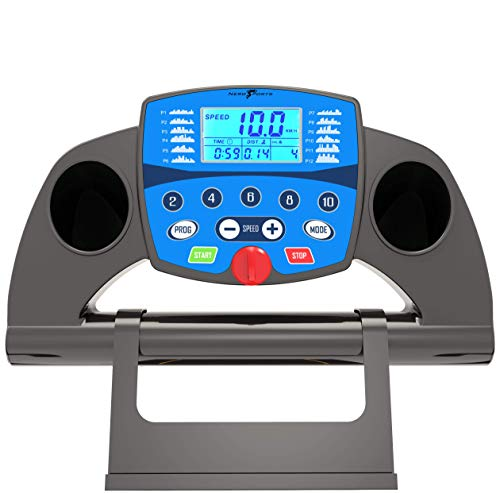 Adjustable Incline Bluetooth Nero PRO Treadmill Electric Motorised Folding Running Machine