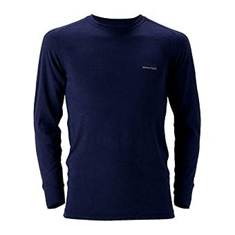 (モンベル)mont-bell スーパーメリノウールM.W.ラウンドネックシャツ Men's