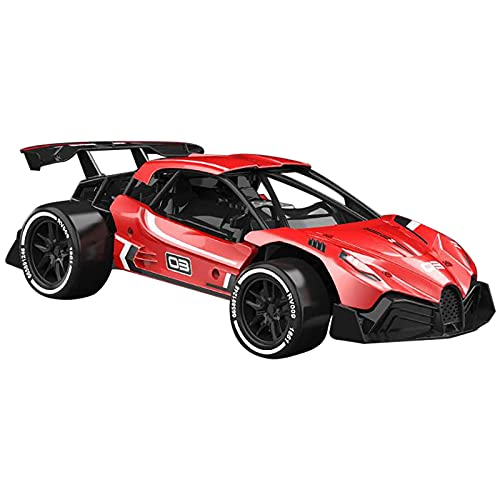 Coche de Carreras Carreras Drifting RC Stunt Car High Speed RC Cars RC 1/16 RC Drift Car 2.4GHz Aleación High Speed RC Race Car Gift (Juguete Inteligente)