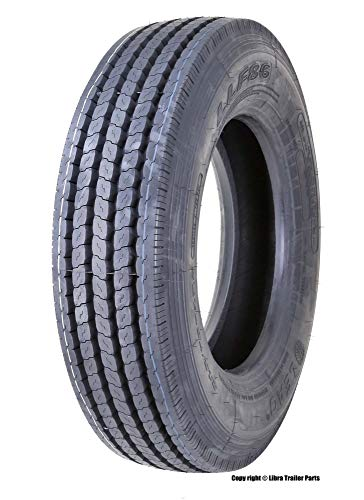 New LEAO 225/70R19.5 14 Ply Rated All Position Truck/Trailer Radial Tire - 11068