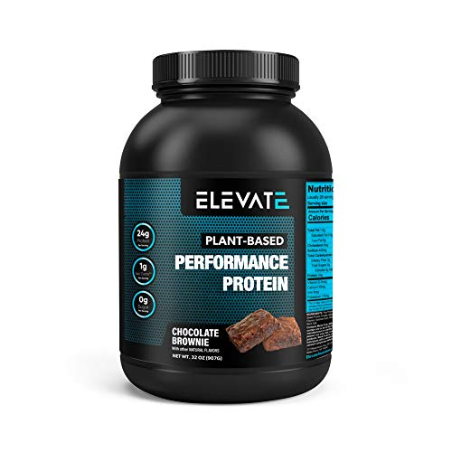 Elevate Nutrition Plant-Based Vegan Performance Protein Powder