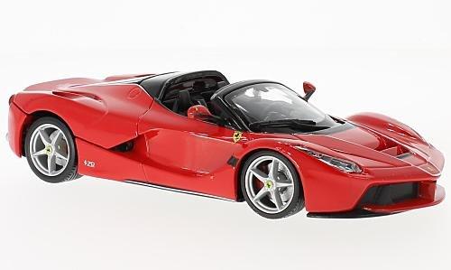 Ferrari LaFerrari Aperta, rot, 0, Modellauto, Fertigmodell, Bburago 1:24