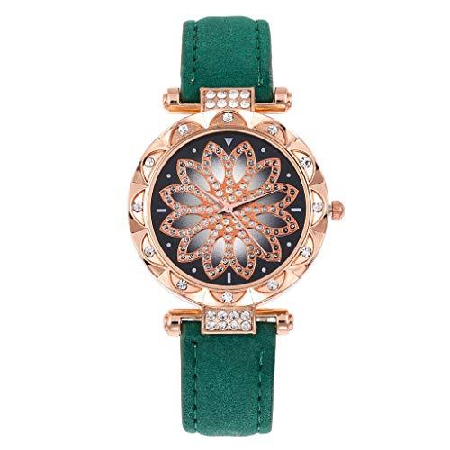 jieGorge Reloj para Mujer, el último Reloj de Moda con cinturón para Mujer Wild Lady Regalo, joyería y Relojes de Moda Creativa (G)