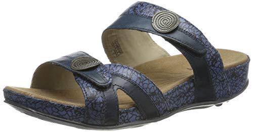 Romika Damen Fidschi 22 Geschlossene Sandalen, Blau (Blue Combi 92 515), 37