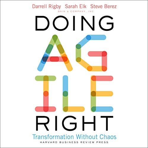 Doing Agile Right cover art