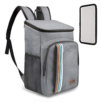 TOMSHOO Cool Bag Sac à Dos Isotherme 39 canettes, Grande capacité, Sac Isotherme léger et étanche pour Camping, randonnée, déjeuner, Pique-Nique, journalier