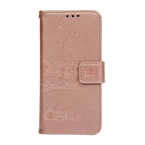 Hoesje voor Huawei P20 Lite, 3D Painted PU Lederen TPU Bumper Flip Magnetisch Boek Skin Shell Telefoon Hoesje Stand Portemonnee Beschermende Cover Kaarthouder voor Huawei P20 Lite
