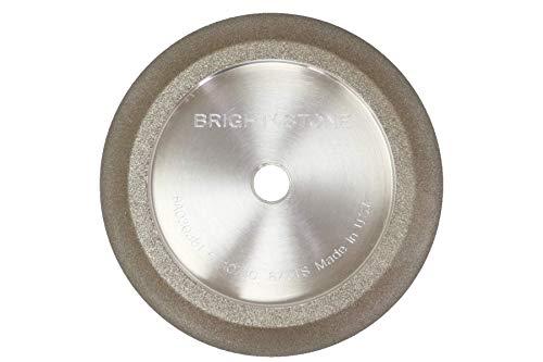 BrightStone 5 Inch CBN Grinding Wheel, 7/34 Angle, 7/8