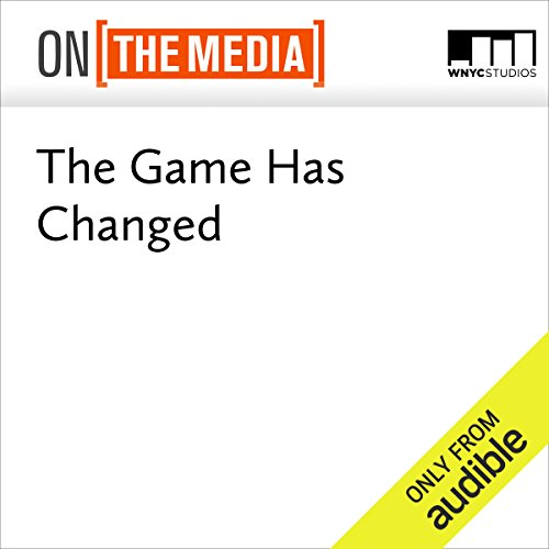 The Game Has Changed audiobook cover art