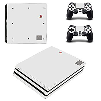 Adventure Games PS4 PRO - 20th Anniversary Limited Edition - Playstation 4 Vinyl Console Skin Decal Sticker + 2 Controller Skins Set