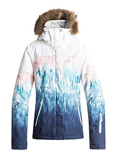Roxy Damen Snow Jacket Jet Ski SE, bright white-snowyvale, L, ERJTJ03184