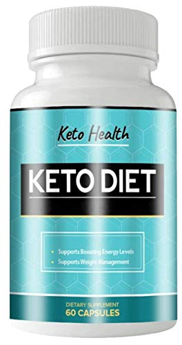 Keto Health Diet Pills, Keto Healthy Diet Supplement to Enhance Energy Support Metabolism Utilize Fat for Fuel 800 mg - Exogenous Ketones for Rapid Ketosis - BHB Ketones for Men Women (60 Capsules)