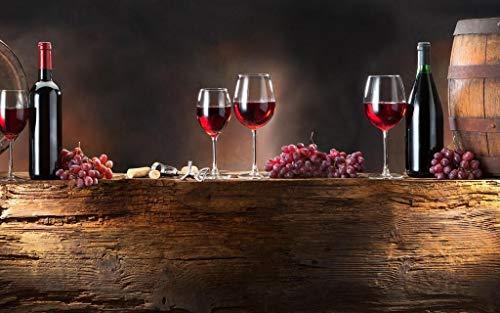 Olieverfschilderij digitaal om zelf te maken wijn op tafel creatief geschenk schilderij huisdecoratie olieverfschilderij handgeschilderd op canvas 40 x 50 cm