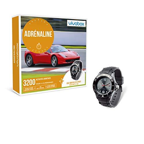 Vivabox - Coffret cadeau sensation - ADRENALINE - 3200 activités sportives + 1 montre de sport