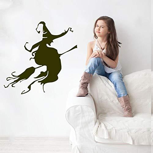 Geiqianjiumai Halloween Hut Halloween Dekoration Home Poster wandaufkleber Kunst wandbild 57X57 cm