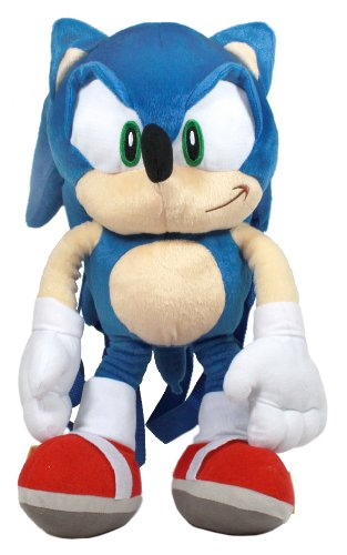 41cm Sonic the Hedgehog Plush Backpack