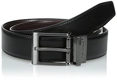 Dickies Men's Casual Reversible Belt, Black/Brown, X-Large (42-44)
