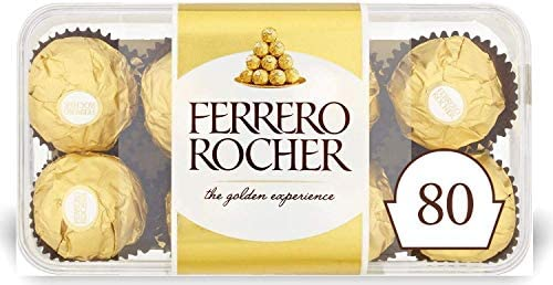 Ferrero Rocher Chocolate Gift, 3 x 16, 48 Chocolates