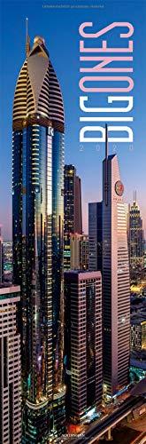 Big Ones 2020, Wandkalender / Panoramakalender im Hochformat (33x100 cm) - Architekturkalender mit Hochhäusern / Wolkenkratzern mit Monatskalendarium