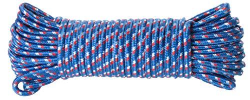 Brandsseller Allzweckseil 25 Meter aus Nylon/Ölresistent/Abriebfest/UV-Beständig/Seil-Blau