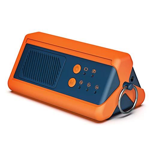 Airthereal PA1K-GO 1000mg/h tragbarer Ozon-Generator - schnurloser, batteriebetriebener Geruchsbeseitiger für Auto, Hotelzimmer, Büros, Badezimmer sowie andere, kleine Räume (blau-orange)