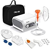 Nebulizador Compresor Electrico Inhalador Inhalación para Bebe Adulto con Kit para Utilizar hogar...