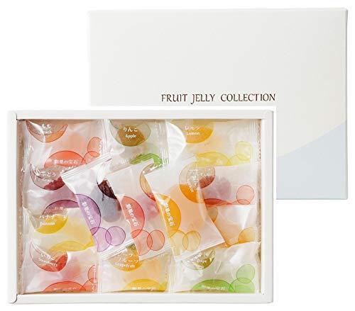 彩果の宝石 フルーツゼリーコレクション1箱(15種類25個入り)