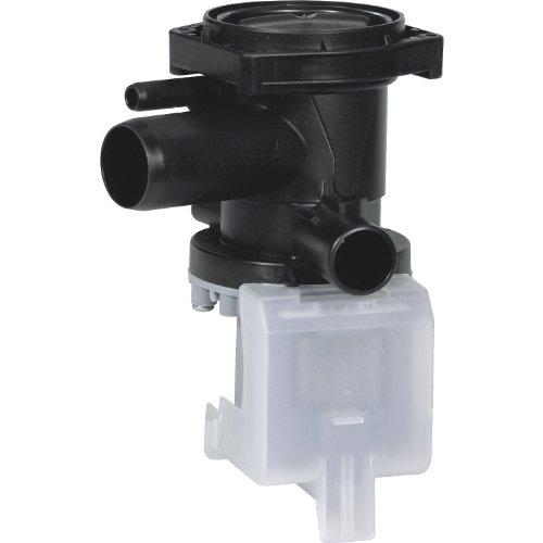Alternativ Magnet Laugenpumpe, Leistung: 230 V / 50 Hz / 28 Watt, Einlauf: 29mm, Ablauf: 22mm, Entlüftung: 8mm wie Original Nr: 144487, passend für: Bosch und Siemens Geräte