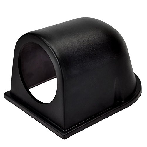 """ESUPPORT Universal Car Motor 2"""" 52MM Black ABS Plastic Gauge Meter Dash Dashboard Mount Pod Holder"""