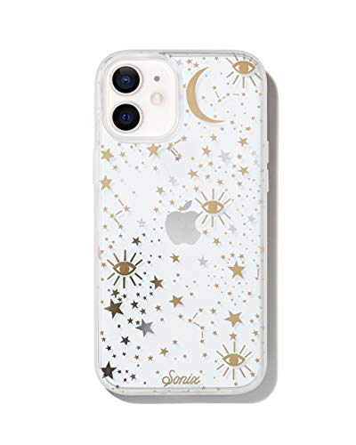 Sonix Cosmic Stars Case for iPhone 12 / 12Pro [10ft Drop Tested] Women's Protective Gold Silver Star Clear Cover for Apple iPhone 12, iPhone 12 Pro
