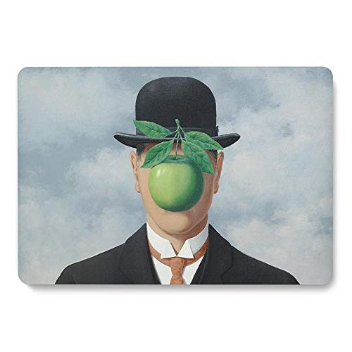 The Son Of Man Painting Pattern Laptop Case For Apple For Macbook Retina Air 11 12 13.3 New Pro 15.4 16 Inch Cover Shell