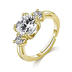 Made with Trust. Gold Meghan Replica Ring with Crystals from Swarovski by Philip Jones. Buy with confidence with our 1-year guarantee and receive your money back if you are not 100% happy with your ring. Our free delivery and fast dispatch ensure you...