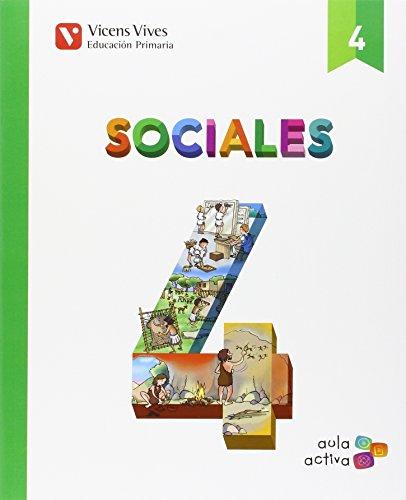 SOCIALES 4+ CASTILLA Y LEON SEPARATA (AULA ACTIVA): Sociales 4. L. Alumno Y Separata Castilla Y Leon. Aula Activa: 000002 - 9788468237404