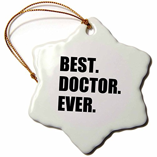 3dRose Best Doctor Ever-Fun Job Pride Gift for GP's, Specialist Dr's and...