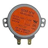 Lepeuxi SSM-16H AC220-240V 3W 50 / 60Hz 4681ED3001A Motor síncrono Giratorio Compatible con Horno de microondas LG