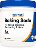 Nutricost Baking Soda (1 LB) - For Baking, Cleaning, Deodorizing, and More
