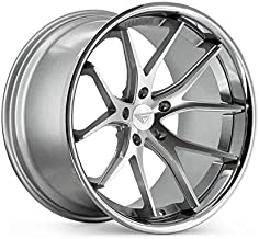Ferrada Wheels FR2 22x10.5 5x130 ET45 Machine Silver/Chrome Lip C.B 71.6