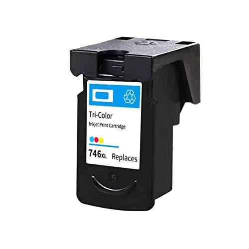 Reemplazo de cartuchos de tinta remanufacturados para Canon PG745XL CL746XL, para Canon MG2470 2570 IP2870 2500 impresora 1*color