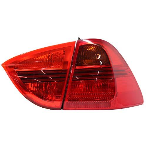 Finest Folia Rückleuchtenfolie Rückleuchten Folien Set (Red, E91 Kombi C032)