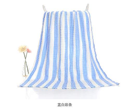 Geen fluorescentie zes lagen van Micro-gerimpelde gaas kinderen zijn bad handdoeken water wassen zachte baby badhanddoek pasgeboren deken handdoek