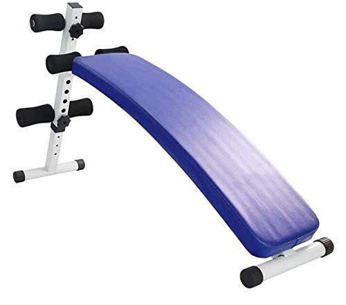 RLIRLI Hantelbank, Trainingsbank, Flachbank höhenverstellbar - ideal für´s Home-Gym,Blue