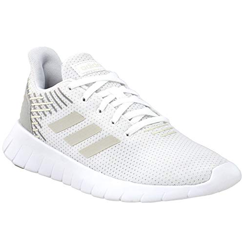 adidas Asweerun Shoe - Women's Running White/Raw White/Grey, 8 M US